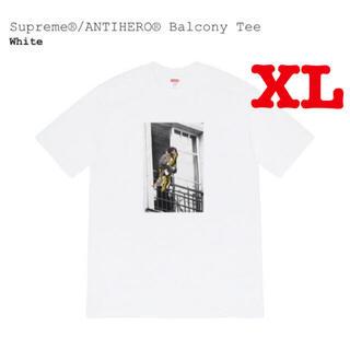 シュプリーム(Supreme)のXLサイズ Supreme ANTIHERO Balcony Tee バルコニー(Tシャツ/カットソー(半袖/袖なし))