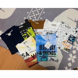 ザラキッズ(ZARA KIDS)のZARA kids ロンTと半袖7枚セット(Tシャツ/カットソー)