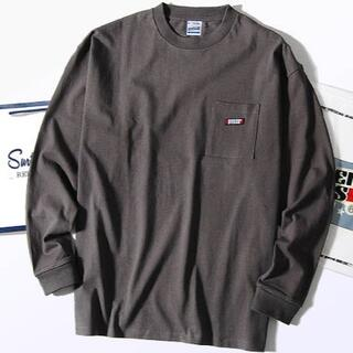 BEAMS - スクリーンスターズ ビッグロンT Tシャツ 長袖 黒灰L