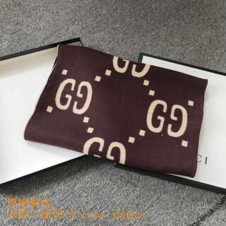 Hermes - グッチ GGジャカード ウールシルク スカーフ