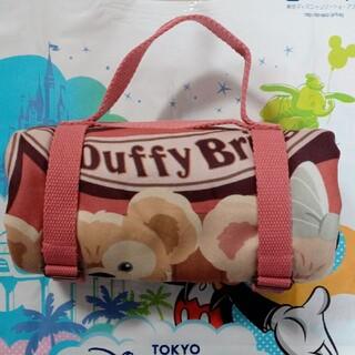 ダッフィー(ダッフィー)のダッフィー&シェリーメイ ブランケット(ひざ掛け) Duffy(キャラクターグッズ)