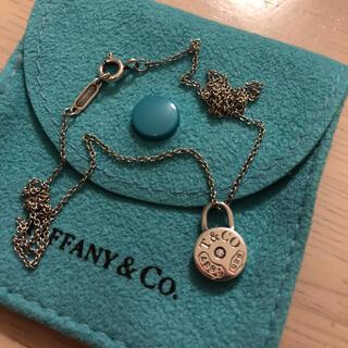 Tiffany & Co. - ティファニーラウンドロックネックレス