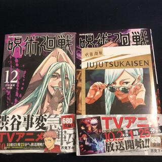 集英社 - 呪術廻戦 12巻 13巻 初版 特典 付き 冥冥 ポストカード