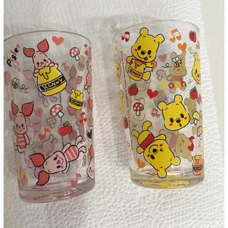 クマノプーサン(くまのプーさん)のディズニー くまのプーさん&ピグレット グラス(グラス/カップ)