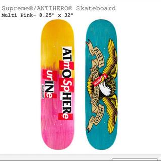 シュプリーム(Supreme)のANTIHERO Skateboard Multi Pink(スケートボード)