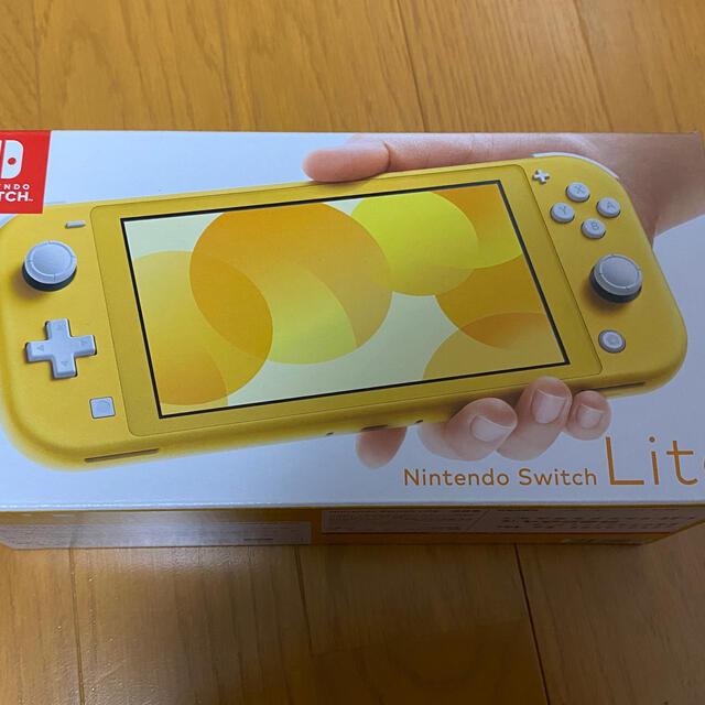 Nintendo Switch(ニンテンドースイッチ)のS様専用 Nintendo Switch Lite スイッチ ライト イエロー エンタメ/ホビーのゲームソフト/ゲーム機本体(携帯用ゲーム機本体)の商品写真