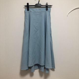 ロペ(ROPE)のミモレ丈 フレアスカート(ひざ丈スカート)