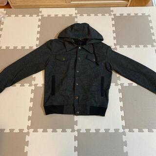 ビブジョー(VIBGYOR)のジャケット フード付 ヴィヴジョー(Gジャン/デニムジャケット)