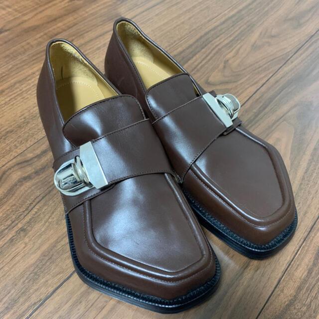 JOHN LAWRENCE SULLIVAN(ジョンローレンスサリバン)のMAGLIANO BUSINESS MONSTER LOAFER BROWN メンズの靴/シューズ(ドレス/ビジネス)の商品写真
