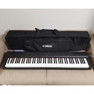ヤマハ - ヤマハ電子ピアノ P125B  純正ソフトケース付き