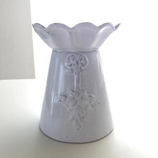 アッシュペーフランス(H.P.FRANCE)の美品 アスティエ マーガレット フラワーベース astier 花瓶(花瓶)