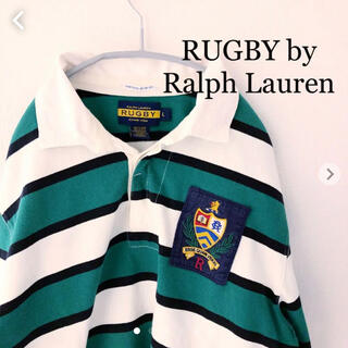 POLO RUGBY - ラルフローレン ラグビー ラガーシャツ 長袖ポロシャツ RUGBY