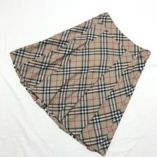 BURBERRY - 美品 BURBERRY LONDON  バーバリー ノバチェック ウールスカート