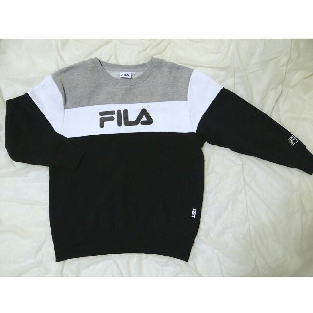 FILA(フィラ)のFILA フィラ トレーナー スウェット ロゴトレーナー カジュアル レディースのトップス(トレーナー/スウェット)の商品写真