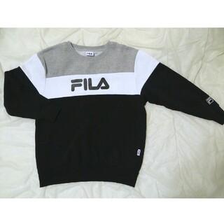FILA - FILA フィラ トレーナー スウェット ロゴトレーナー カジュアル