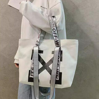 OFF-WHITE - off-white トートバッグ エコバッグ