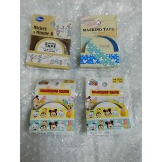ディズニー(Disney)の4 ディズニー マスキングテープ 4種類セット(テープ/マスキングテープ)