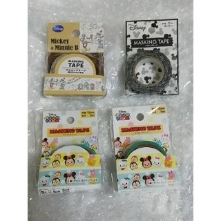 ディズニー(Disney)の10 ディズニー マスキングテープ 4個セット(テープ/マスキングテープ)