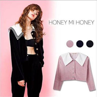 Honey mi Honey - HONEYMIHONEY セーラージャケット 処分SALE