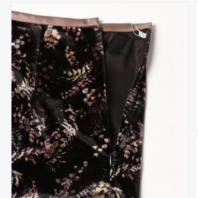 snidel(スナイデル)の*プリントベロアロングスカート* レディースのスカート(ロングスカート)の商品写真