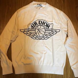 ディオール(Dior)のDIOR ×NIKE ニット ジョーダン ナイキ ディオール スウェット  (ニット/セーター)