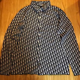 クリスチャンディオール(Christian Dior)のDIOR オブリークシャツ ディオール Oblique オブリーク ロゴ(シャツ)