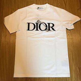 クリスチャンディオール(Christian Dior)のDIOR 白 AND JUDY BLAME Tシャツ ディオール ジュディ(Tシャツ/カットソー(半袖/袖なし))