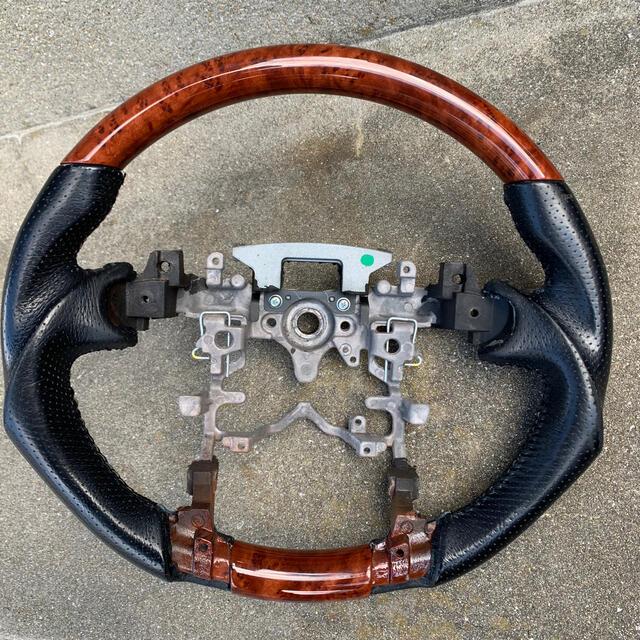 トヨタ(トヨタ)の専用 プリウス30系 ガングリップステアリング 自動車/バイクの自動車(車種別パーツ)の商品写真
