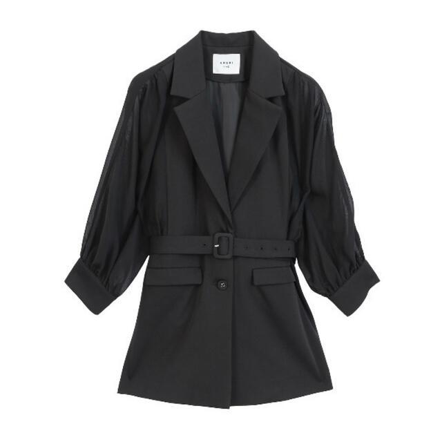 Ameri VINTAGE(アメリヴィンテージ)のAmeri vintage sheer dolman jacket  レディースのトップス(シャツ/ブラウス(長袖/七分))の商品写真
