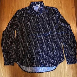 クリスチャンディオール(Christian Dior)のDIOR モノグラム柄 オブリークシャツ ディオール Oblique ロゴ(シャツ)