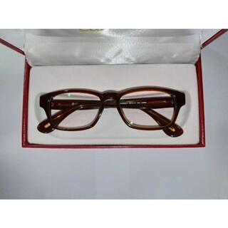 カルティエ(Cartier)の【正規品】良品 カルティエ メガネフレーム 31399821 度入り(サングラス/メガネ)