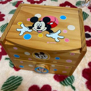 ディズニー(Disney)のミッキー&ミニー ドレッサー(メイクボックス)