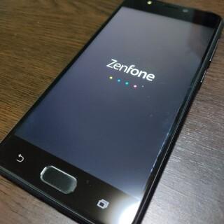 エイスース(ASUS)のASUS ZC520KL Zenfone4 max ネイビー 本体 スマホ (スマートフォン本体)