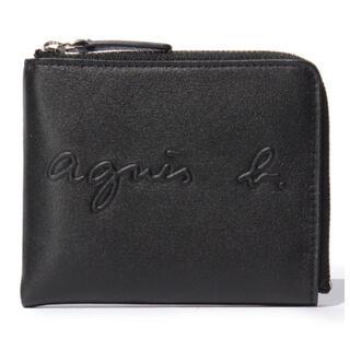 アニエスベー(agnes b.)の新品未使用 agnes b. コインケース/札入れ 黒(折り財布)