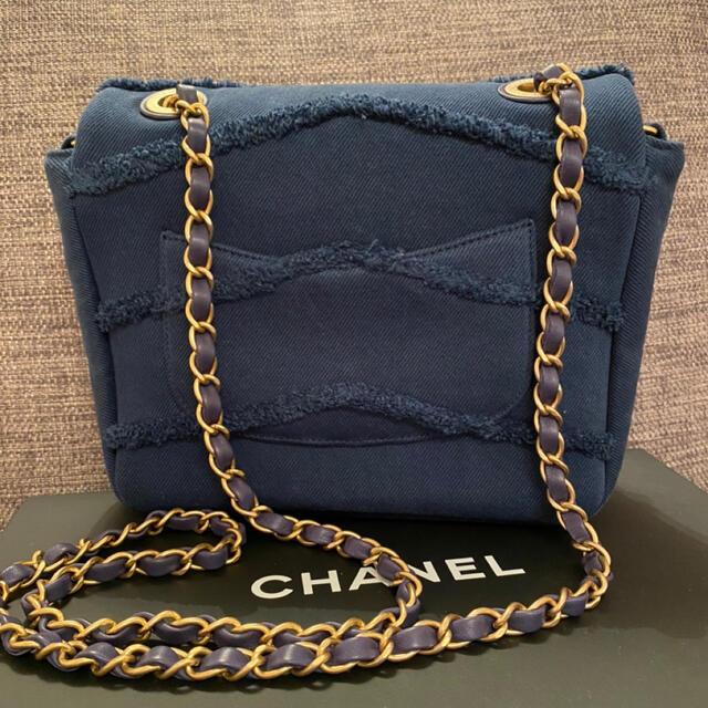 CHANEL(シャネル)の✨専用です✨CHANEL ショルダーバッグ デニム ネイビー レディースのバッグ(ショルダーバッグ)の商品写真