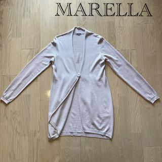 Max Mara - MARELLA 暖かロングカーディガン(羊毛100%・イタリア製)