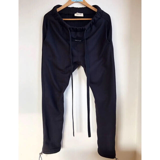 FEAR OF GOD - FEAR OF GOD 6TH CORE SWEATPANTS 希少XS 黒