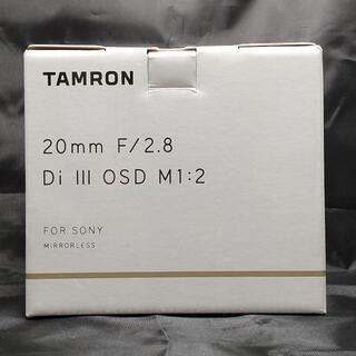 TAMRON - 20mm F/2.8 Di III OSD M1:2 Model F050
