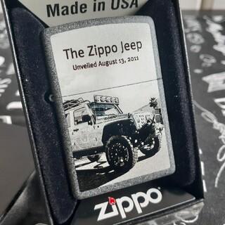 ジッポー(ZIPPO)のzippoジッポ未使用新品ジープ(タバコグッズ)