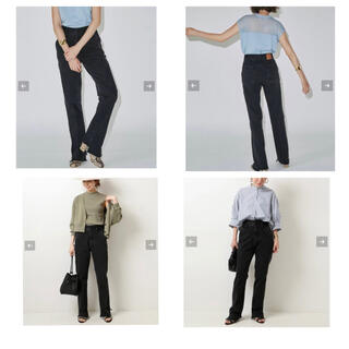 Spick and Span - 試着のみ 5 1/2 BEAUTY-LINE SLIT DENIM3