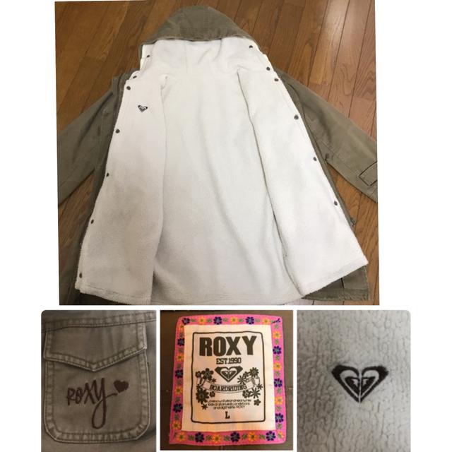 Roxy(ロキシー)のロキシーコート OP長Tセット L レディースのジャケット/アウター(その他)の商品写真