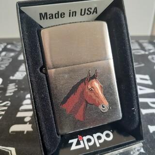 ジッポー(ZIPPO)のzippoジッポ未使用新品馬(タバコグッズ)