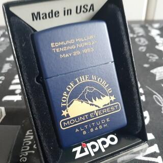 ジッポー(ZIPPO)のzippoジッポ未使用新品エベレスト(タバコグッズ)