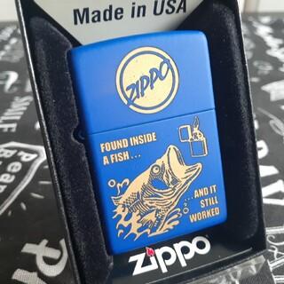 ジッポー(ZIPPO)のzippoジッポ未使用新品ブラックバス(タバコグッズ)