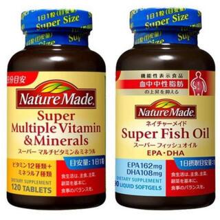 大塚製薬 - ネイチャーメイド スーパーマルチビタミン&ミネラル スーパーフィッシュオイル