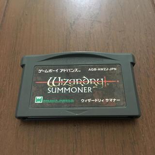 ゲームボーイアドバンス - ウィザードリィ サマナー GBA ゲームボーイアドバンス