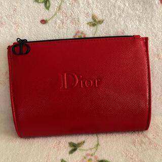 Christian Dior - Dior★赤いポーチ★