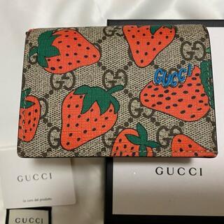 Gucci 財布 ストロベリー 正規品