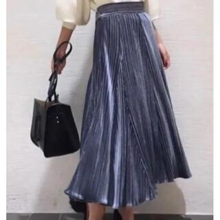 ラグナムーン(LagunaMoon)のベロアスカート♡LAGNAMOON(ロングスカート)