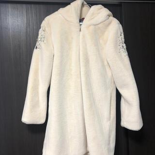 ダチュラ(DaTuRa)のDaTuRa  ビジューファーコート ぬいぐるみコート(毛皮/ファーコート)